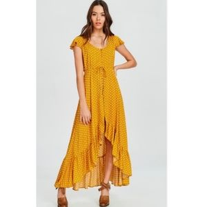 Maxi Polka Dirt dress